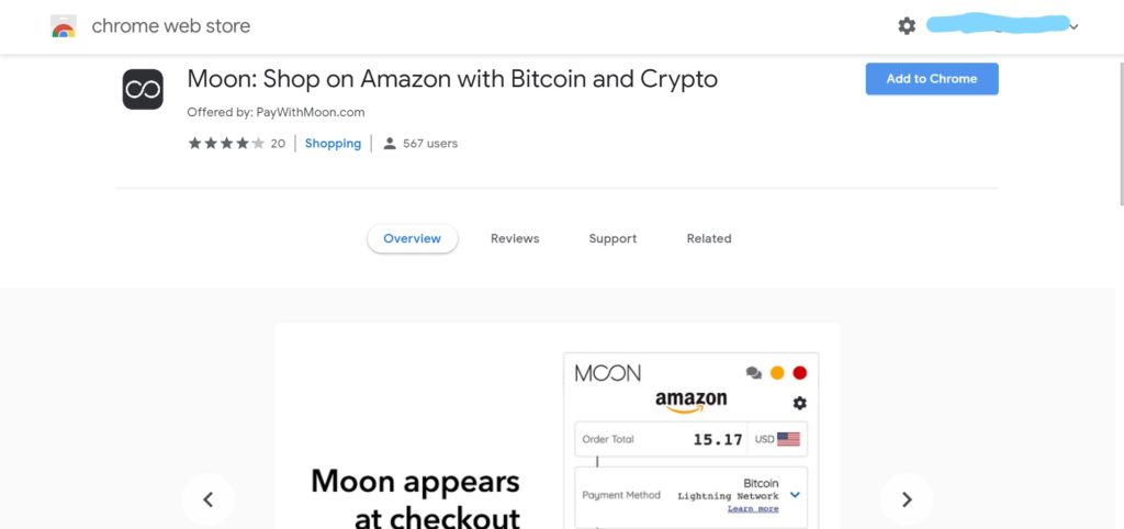 buy from amazon using bitcoins
